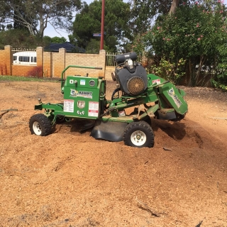 stump grinder machinery in Perth